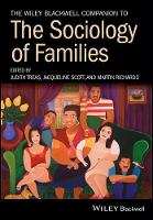 The Wiley Blackwell Companion to the Sociology of Families by Judith Treas