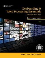 Keyboarding and Word Processing Essentials, Lessons 1-55, Spiral bound Version by Donna Woo, Connie Forde, Susie H. VanHuss, Vicki Robertson