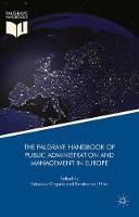 The Palgrave Handbook of Public Administration and Management in Europe by Edoardo Ongaro