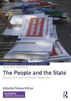 The People and the State Twenty-First Century Protest Movement by Thomas O'Brien