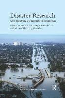 Disaster Research Multidisciplinary and International Perspectives by Morten Thanning Vendelo