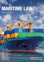 Maritime Law by Yvonne (Institute of Maritime Law, University of Southampton, UK) Baatz
