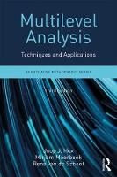 Multilevel Analysis Techniques and Applications, Third Edition by Joop J. Hox, Mirjam Moerbeek, Rens van de Schoot