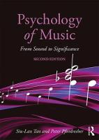 Psychology of Music From Sound to Significance by Siu-Lan Tan, Peter Pfordresher, Rom Harre