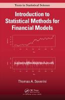 Introduction to Statistical Methods for Financial Models by Thomas A. Severini