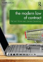The Modern Law of Contract by James Devenney