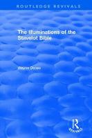 : The Illuminations of the Stavelot Bible (1978) by Wayne Dynes