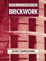 Brickwork by John Carruthers