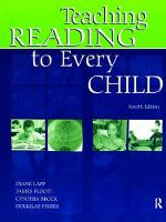 Teaching Reading to Every Child by Diane Lapp