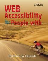 Web Accessibility for People with Disabilities by Mike Paciello