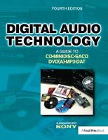 Digital Audio Technology A Guide to CD, MiniDisc, SACD, DVD(A), MP3 and DAT by Jan Maes