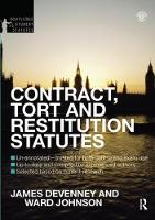 Contract, Tort and Restitution Statutes 2012-2013 by James Devenney