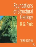 Foundation of Structural Geology by Professor R G Park