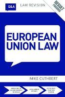 Q&A European Union Law by Michael Cuthbert