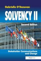 Solvency II Stakeholder Communications and Change by Gabrielle O'Donovan