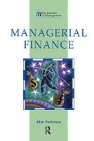 Managerial Finance by Alan Parkinson