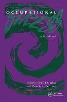 Occupational Stress A Handbook by Rick Crandall