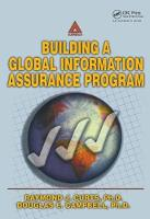 Building A Global Information Assurance Program by Raymond J. Curts