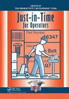 Just-in-Time for Operators by Productivity Press Development Team