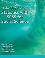Introduction to Statistics with SPSS for Social Science by Faiza Qureshi