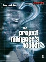 Project Manager's Toolkit by David Shailer
