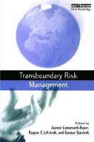 Transboundary Risk Management by Joanne Linnerooth-Bayer
