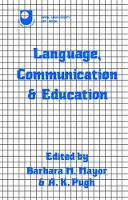 Language, Communication and Education by Barbara Mayor
