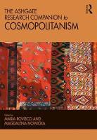The Ashgate Research Companion to Cosmopolitanism by Maria Rovisco