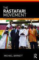 The Rastafari Movement A North American and Caribbean Perspective by Michael (University of the West Indies) Barnett