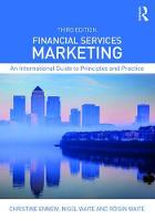 Financial Services Marketing An International Guide to Principles and Practice by Christine Ennew, Nigel Waite, Roisin Waite