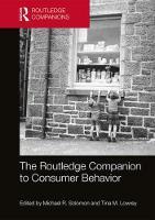 The Routledge Companion to Consumer Behavior by Michael R. Solomon