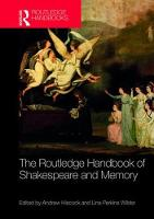 The Routledge Handbook of Shakespeare and Memory by Andrew Hiscock