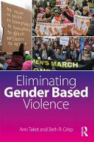 Eliminating Gender-Based Violence by Ann (Deakin University, Australia) Taket