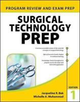 Surgical Technology PREP by Jacqueline R. Bak, Michelle A. Muhammad