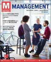 M: Management by Bateman