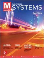 M: Information Systems by Paige Baltzan