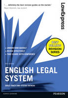 Law Express: English Legal System by Emily Finch, Stefan Fafinski