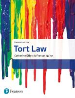 Tort Law by Catherine Elliott, Frances Quinn