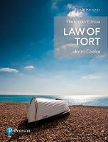 Law of Tort by John Cooke