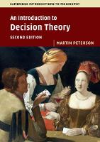 An Introduction to Decision Theory by Martin (Texas A & M University) Peterson