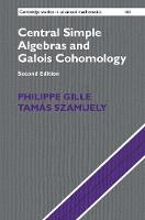 Central Simple Algebras and Galois Cohomology by Philippe Gille, Tamas Szamuely