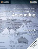 Cambridge International AS and A Level Accounting Coursebook by David Hopkins, Harold Randall
