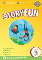 Storyfun 5 Teacher's Book with Audio by Karen Saxby, Emily Hird