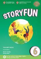 Storyfun 6 Teacher's Book with Audio by Karen Saxby, Emily Hird