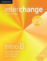 Interchange Intro B Student's Book with Online Self-Study and Online Workbook by Jack C. Richards