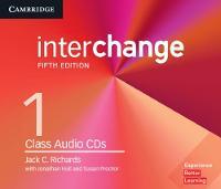 Interchange Level 1 Class Audio CDs by Jack C. Richards, Jonathan Hull, Susan Proctor