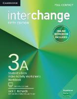 Interchange Level 3A Full Contact with Online Self-Study and Online Workbook by Jack C. Richards, Jonathan Hull, Susan Proctor