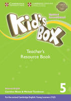 Kid's Box Level 5 Teacher's Resource Book with Online Audio American English by Kate Cory-Wright, Caroline Nixon, Michael Tomlinson