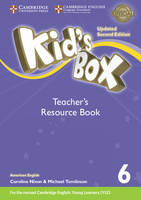 Kid's Box Level 6 Teacher's Resource Book with Online Audio American English by Kate Cory-Wright, Caroline Nixon, Michael Tomlinson