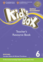 Kid's Box Level 6 Teacher's Resource Book with Online Audio British English by Kate Cory-Wright, Caroline Nixon, Michael Tomlinson